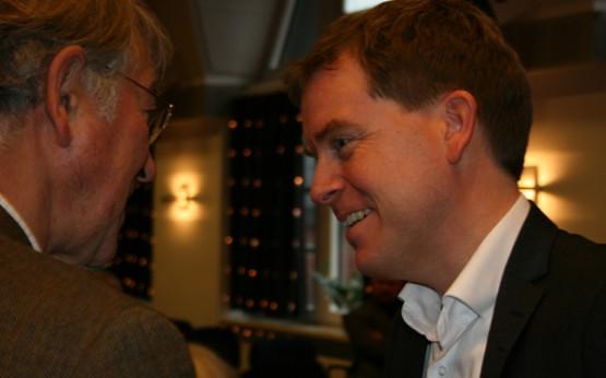 Im Gespräch mit Ex-OB Norbert Gansel