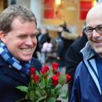 Ulf Kämpfer und Torsten Albig