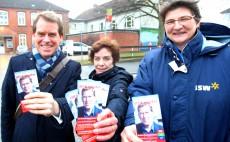 Ulf Kämpfer, Heidemarie Toscan und Antje Danker