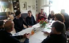 Gesprächsrunde in Meimersdorf